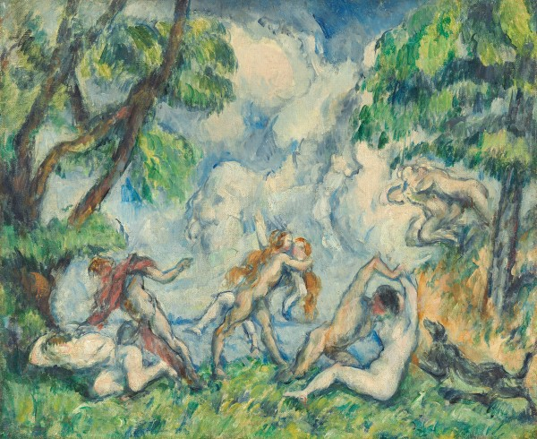 The Battle of Love by Paul Cézanne (about 1880) National Gallery of Art, Washington, DC. Gift of the W. Averell Harriman Foundation in memory of Marie N. Harriman, 1972.9.2. Image courtesy of the Board of Trustees, National Gallery of Art, Washington, DC.