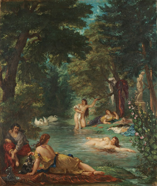 Bathers by Eugène Delacroix (1854) © Wadsworth Atheneum Museum of Art, Hartford, Connecticut. The Ella Gallup Sumner and Mary Catlin Sumner Collection Fund, 1952.300