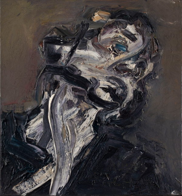 Frank Auerbach, Head of J.Y.M II (1984-85) Private collection © Frank Auerbach