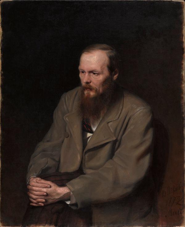 Fedor Dostoevsky by Vasily Perov (1872) © State Tretyakov Gallery, Moscow