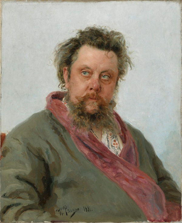 Modest Mussorgsky by Ilia Repin (1881) © State Tretyakov Gallery, Moscow