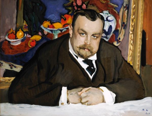Ivan Morozov by Valentin Serov (1910) © State Tretyakov Gallery, Moscow