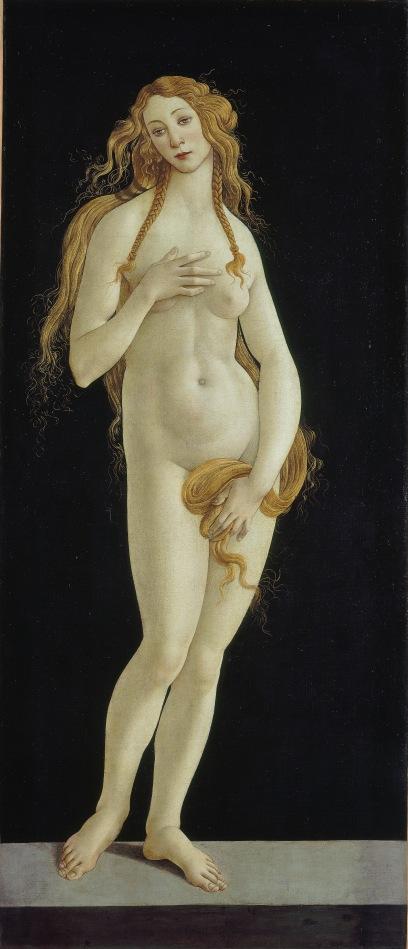 Venus by Sandro Botticelli (1490s) Gemäldegalerie Staatliche Museen zu Berlin Preußischer Kulturbesitz . Photo: Volker-H. Schneider.