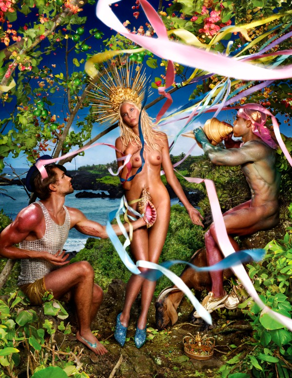 Rebirth of Venus by David LaChapelle (2009) Creative Exchange Agency, New York, Steven Pranica / Studio LaChapelle (c) David LaChapelle.