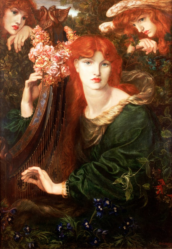 La Ghirlandata by Dante Gabriel Rossetti (1873) © Guildhall Art Gallery 2015. Photo: Scala, Florence/Heritage Images .