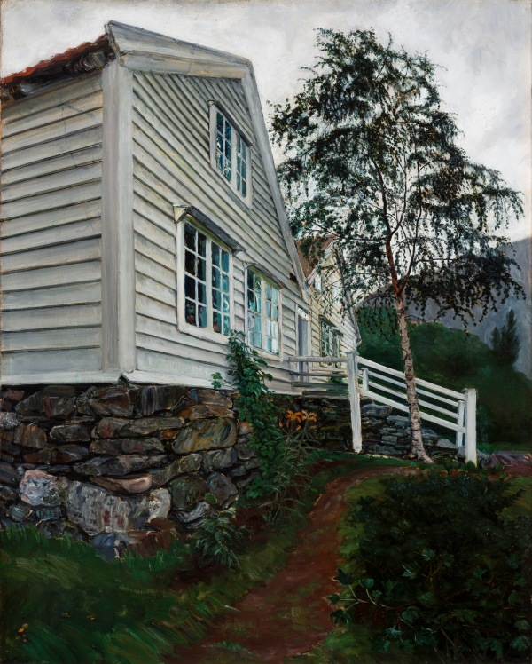 The Parsonage by Nikolai Astrup. The Savings Bank Foundation DNB/The Astrup Collection/KODE Art Museums of Bergen. Photo © Dag Fosse/KODE