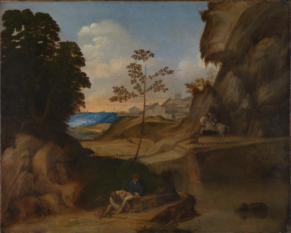 Il Tramonto (The Sunset) by Giorgione. The National Gallery, London. Photo (c) The National Gallery, London