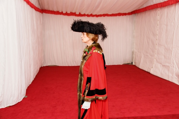 Silent Ceremony, swearing in of new Lord Mayor, Fiona Woolf, Guildhall, City of London, 2013. © Martin Parr / Magnum Photos