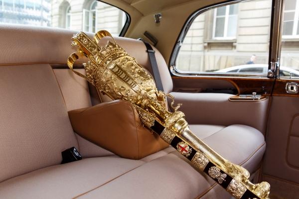 St Matthew's Day Parade, Mayoral Car, City of London, 2014. © Martin Parr / Magnum Photos