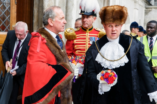 Election of the new Lord Mayor, Alan Yarrow, Guildhall, City of London, 2014. © Martin Parr / Magnum Photos