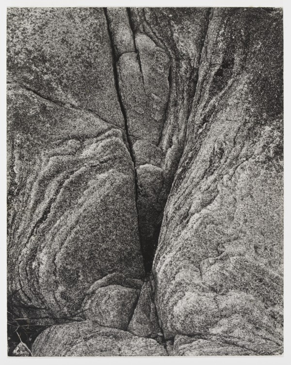 Rock, Loch Eynort, South Uist, Hebrides by Paul Strand (1954) © Paul Strand Archive, Aperture Foundation