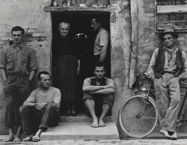 The Family, Luzzara (The Lusettis) by Paul Strand (1953) © Paul Strand Archive, Aperture Foundation