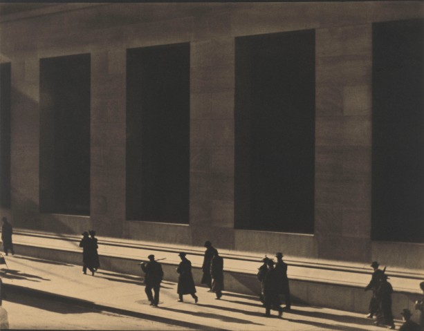 Wall Street, New York by Paul Strand (1915) © Paul Strand Archive, Aperture Foundation