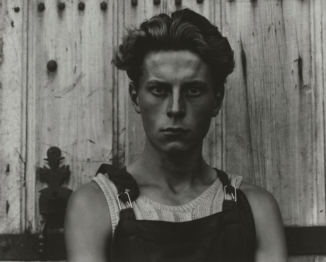 Young Boy, Gondeville, Charente, France by Paul Strand (1951) © Paul Strand Archive, Aperture Foundation