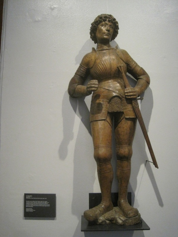 Carved limewood statue by Tilman Riemenschneider from Wurzburg, Germany (1510)