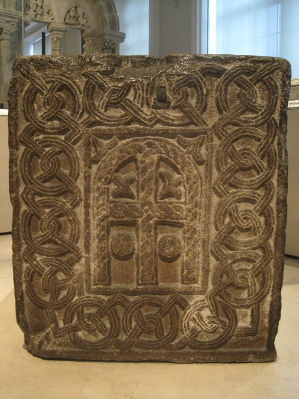 Carved stone wellhead from Murano, north Italy