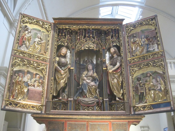 Gothic North European altar