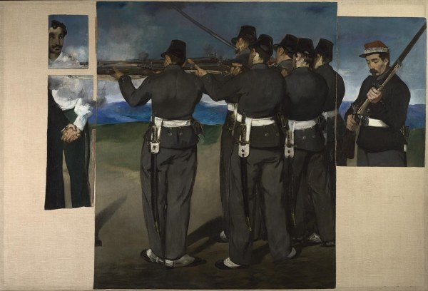 The Execution of Maximilian by Edouard Manet (1867-8) © The National Gallery, London
