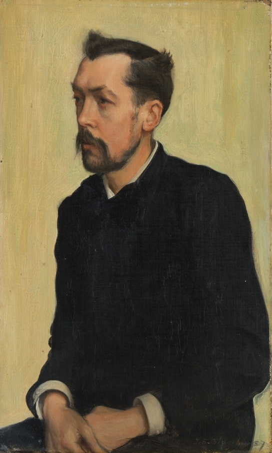 Francis Poictevin by Jacques-Emile Blanche (1887) © Tate, London. Photo The National Gallery, London