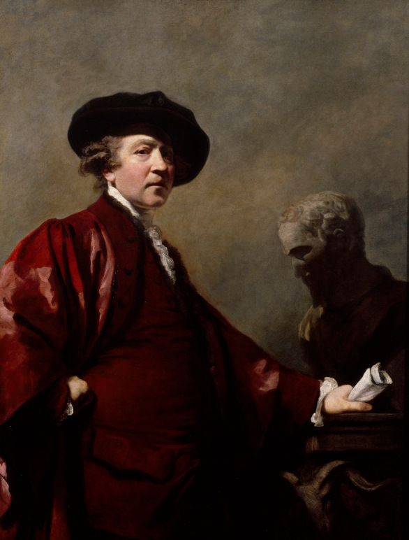 Self Portrait by Sir Joshua Reynolds (about 1780) © Royal Academy of Arts, London; Photographer: John Hammond