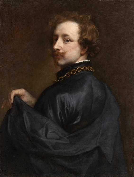 Self Portrait by Anthony van Dyck (about 1629) Lent Anonymously © Photo courtesy of the owner