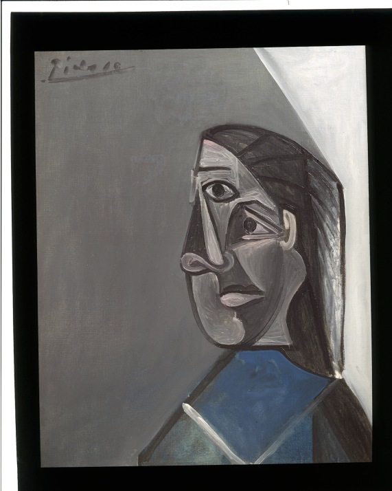 Portrait of Dora Maar by Pablo Picasso (1942) Courtesy The Elkon Gallery, New York City © Succession Picasso/DACS 2016. Photo courtesy of the owner
