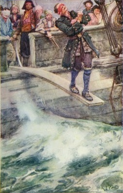 The Master of Ballantrae illustration by Walter Paget