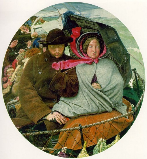 the Last of England by Ford Maddox Brown (1855)