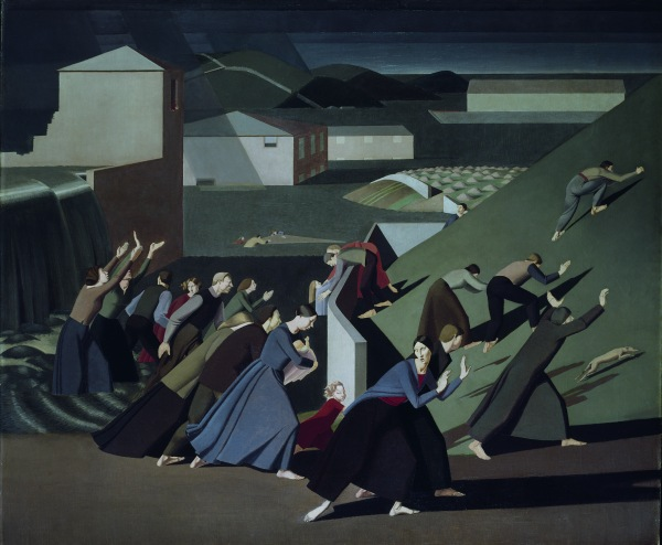 The Deluge by Winifred Knights (1920) Oil on canvas © Tate, London 2016. © The Estate of Winifred Knights