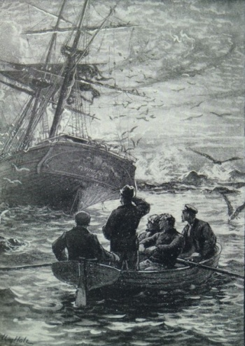 Illustration for The Wrecker by William Hole
