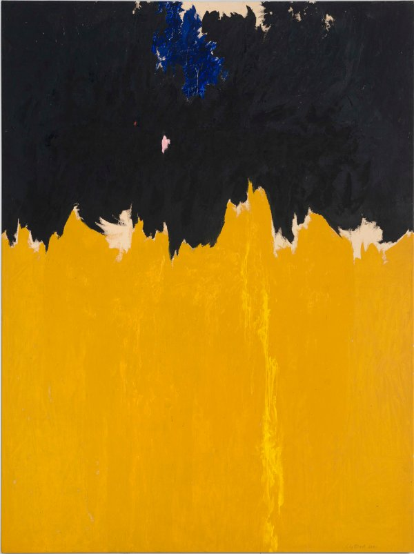 PH-950 by Clyfford Still (1950) Clyfford Still Museum, Denver © City and County of Denver / DACS 2016. Photo courtesy the Clyfford Still Museum, Denver, CO.