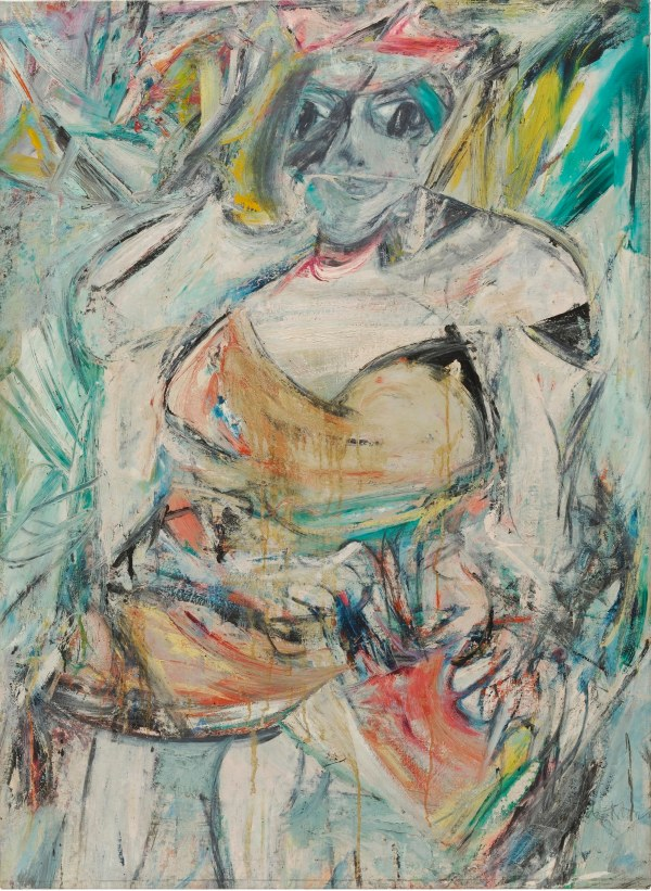 Woman II by Willem De Kooning (1952) The Museum of Modern Art, New York. Gift of Blanchette Hooker Rockefeller, 1995 © 2016 The Willem de Kooning Foundation / Artists Rights Society (ARS), New York and DACS, London 2016 Digital image © 2016. The Museum of Modern Art, New York/Scala, Florence.