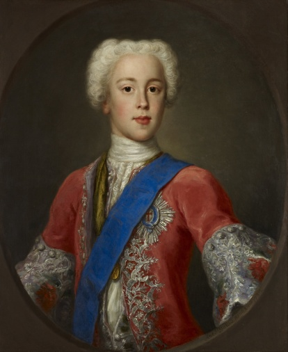 Prince Charles Edward Stuart by Antonio David