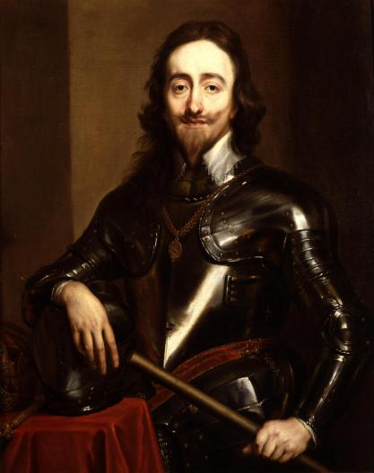 King Charles I painted by Sir Anthony van Dyck