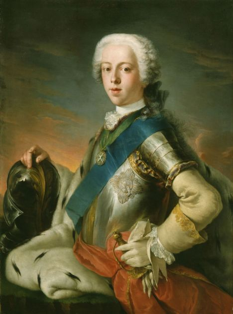 Charles Edward Louis John Casimir Sylvester Severino Maria Stuart (1720 – 1788) known as The Young Pretender and Bonnie Prince Charlie