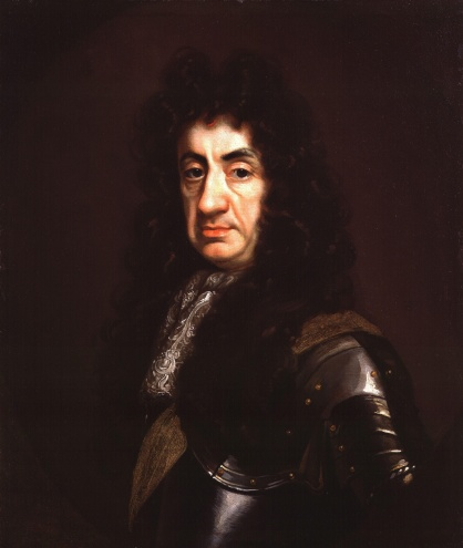 King Charles II painted by John Riley