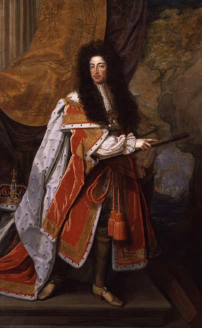 King William III painted by Thomas Murray.