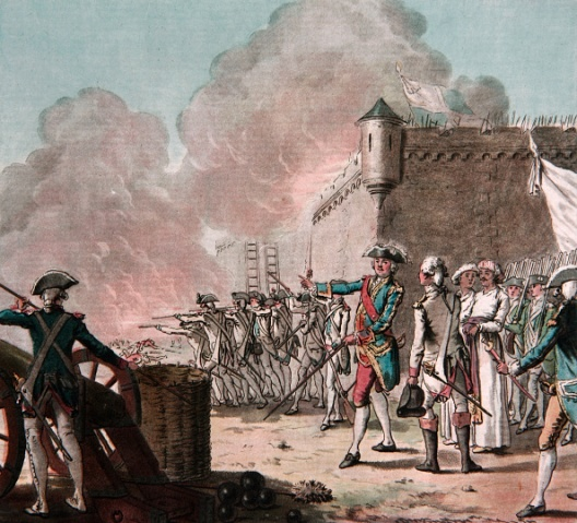 Thomas Arthur, comte de Lally at the siege of Pondicherry - guilty of 'egregious stupidity'