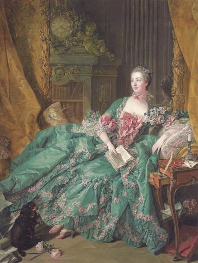 Madame de Pompadour by François Boucher (1756)