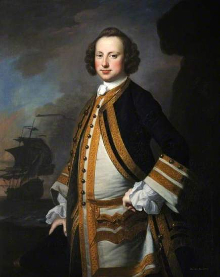 Admiral Sir George Pocock (1706–1792) by Thomas Hudson