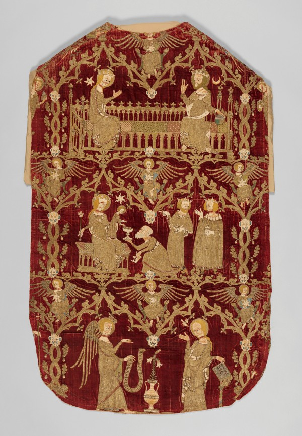 The Chichester-Constable Chasuble (ca. 1335-45) © 2016 The Metropolitan Museum of Art/Art Resource/Scala, Florence
