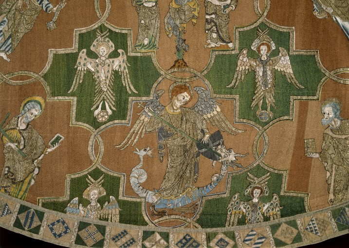 The Syon Cope (detail) (1310-1320 ) © Victoria and Albert Museum, London