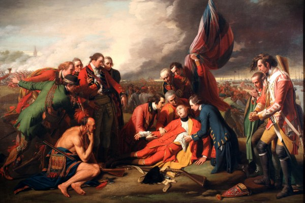 The death of Wolfe by Benjamin West