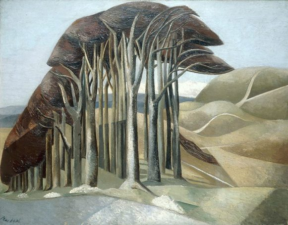 Wood on the Downs by Paul Nash (1930)