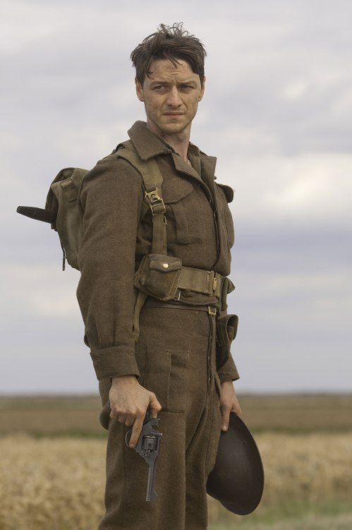 James McAvoy starring in Atonement - this uniform is on display © Universal City Studios LLLP, photographed by Alex Bailey