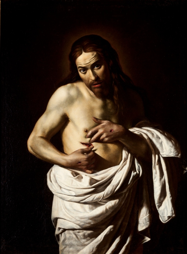 Christ displaying his wounds by Giovanni Antonio Galli, called Lo Spadarino (about 1625-35) © Courtesy of Perth Museum & Art Gallery, Perth & Kinross Council