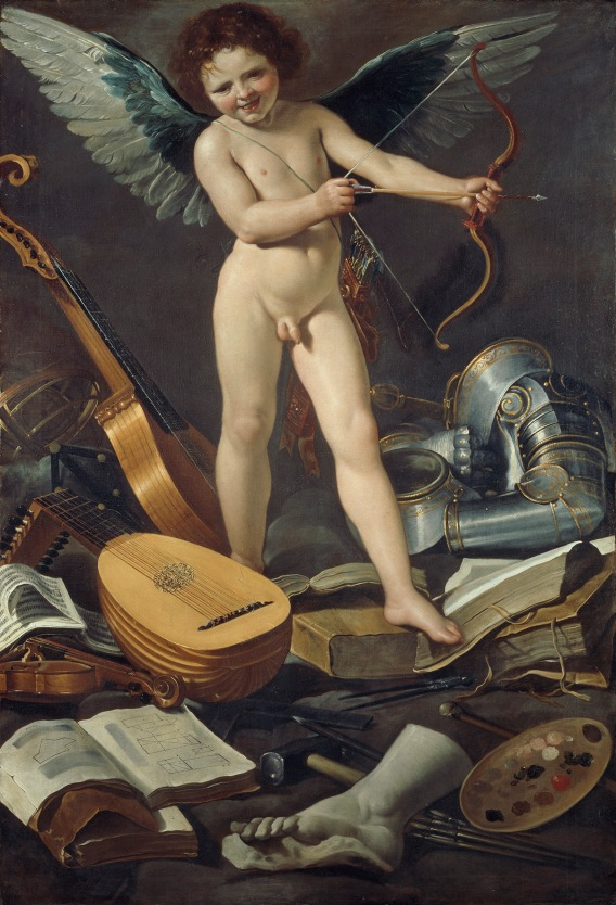 Victorious Earthly Love by Rutilio Manetti (about 1625) © The National Gallery of Ireland, Dublin
