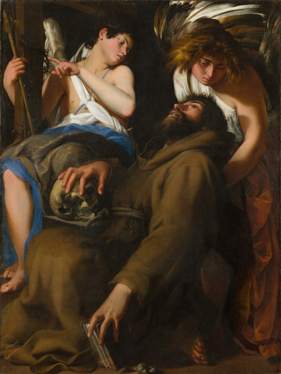 The Ecstasy of Saint Francis by Giovanni Baglione (1601) © The Art Institute of Chicago