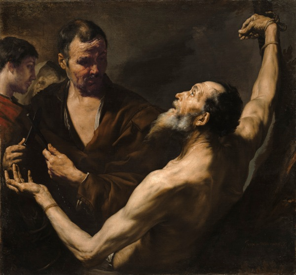 The Martyrdom of Saint Bartholomew by Jusepe de Ribera (1634) Image courtesy of the Board of Trustees, National Gallery of Art, Washington, DC