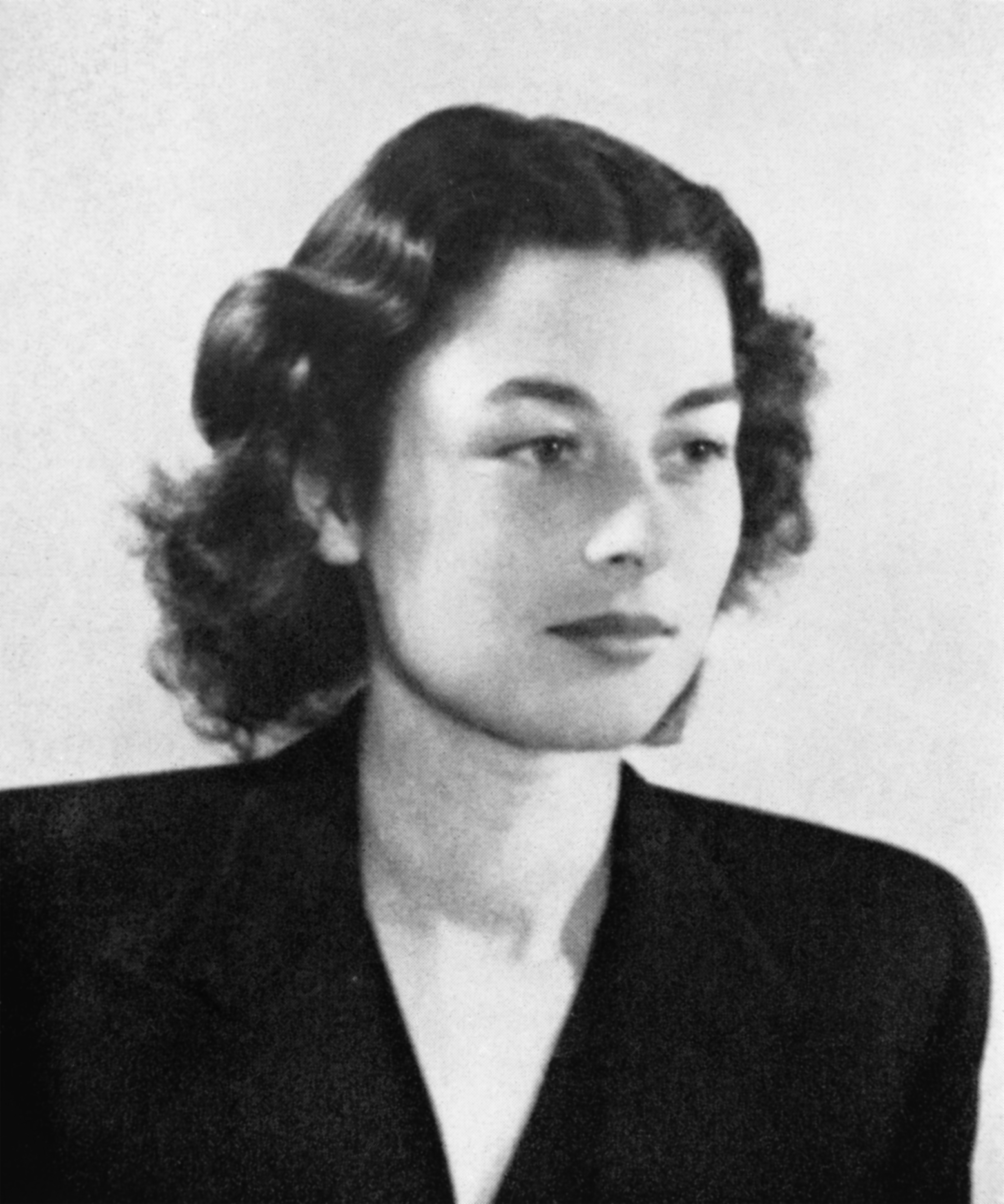 Violette Szabo, whose undercover work for the SOE in occupied France  inspired the film Carve